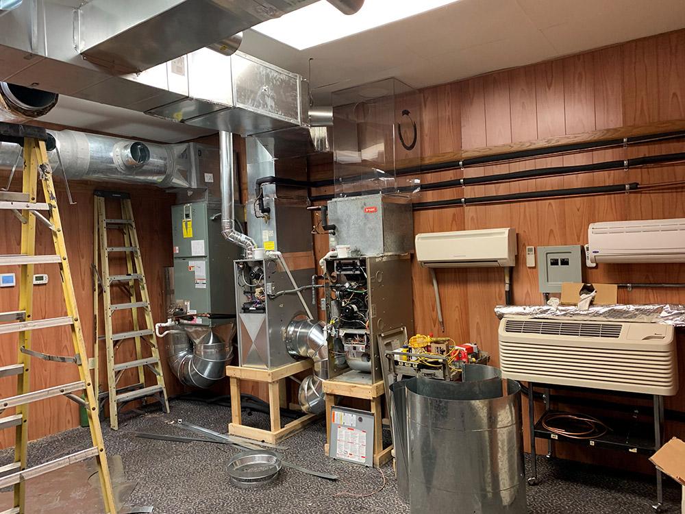 Indoor AC units